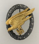 Luftwaffe Paratrooper Badge. SUPERIOR QUALITY