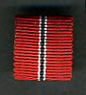 RUSSIAN FRONT MEDAL RIBBON 15mm
