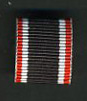 WAR MERIT CROSS 2nd CLASS RIBBON 15mm