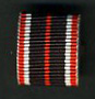 WAR MERIT MEDAL RIBBON 15mm
