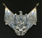 Army Standard Bearer Gorget Centre