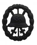 Spanish Civil War Wound Badge Black. Pierced. SUPERIOR QUALITY.