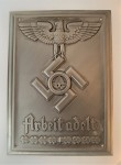 R.A.D. Labour Corps  Wall Plaque in Silver SPECIAL OFFER