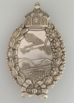 Imperial German WWI Pilot's metal breast badge 1914-18 Prussian Issue SUPERIOR QUALITY.