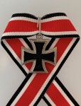 Knights Cross of The Iron Cross ½ size miniature