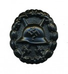 1936 Wound Badge in Black