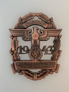 N.S.K.K Bronze Shooting badge