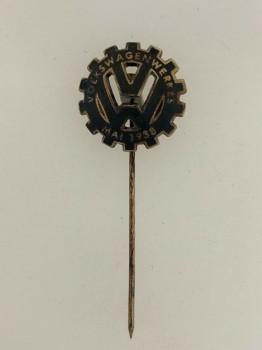 V.W.  Volkswagen factory enamel commemorative pin