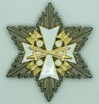 Eagle Order Breast Star with Swords