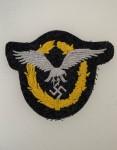 Luftwaffe Pilot-Observer's Badge in cloth