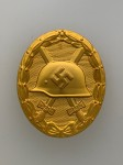 1939 WWII Wound Badge in Gold