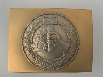 N.S.B.O.  Factory Organisation  belt buckle