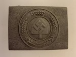 R.A.D. Labour Corps enlisted man's belt buckle