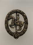 German Horseman's  badge Bronze.