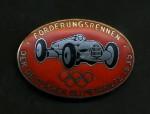 German 1935 Olympic Sponsors motor race series enamel badge for Fire & Rescue teams.
