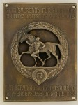 German Plaque for Outstanding Achievement in the care of Horses. HIGHEST QUALITY