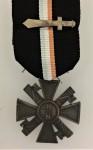Italian Fascist Blackshirt Militia Long Service Cross WITH GLADIUS fitting