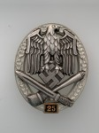 Army or Heer  General Assault Badge for 25 Engagements.