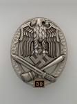 Army or Heer General Assault Badge for 50 Engagements.