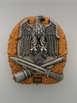Army or Heer General Assault Badge for 100 Engagements.