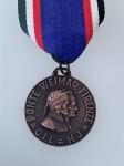 Italian German Fascist and Hitler Youth Meeting  commemorative medal.