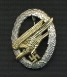 Luftwaffe Paratroopers Badge RE-ENACTOR REPRODUCTION.