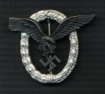 Luftwaffe Pilots Badge RE-ENACTOR REPRODUCTION.