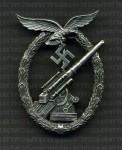 Luftwaffe  Flak Artillery Badge RE-ENACTOR REPRODUCTION.