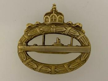 Imperial German Navy WWI U-Boat submarine Badge. HIGHEST QUALITY.