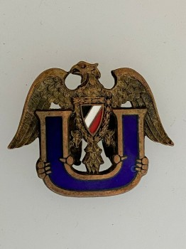 Imperial German U-Boat veterans enamel lapel pin.