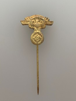 N.S.K.K. (N.S. Motor Corps) eagle stick pin  in gilt finish