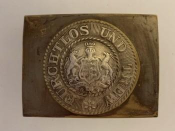 WWI Wurttemburg enlisted mans belt buckle