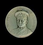 German  WW1 U-BOAT Otto Weddigen  Medallion in  silver