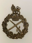 British WW1 Generals bronze cap badge.
