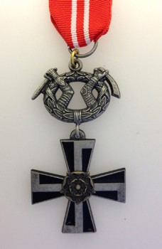 Finnish Order of the Cross of Liberty 4th  Class.