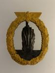 Kriegsmarine Mineswseeper  Badge. ORIGINAL QUALITY