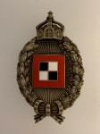 Imperial German Prussian WWI Observer's  metal breast badge. HIGHEST QUALITY.