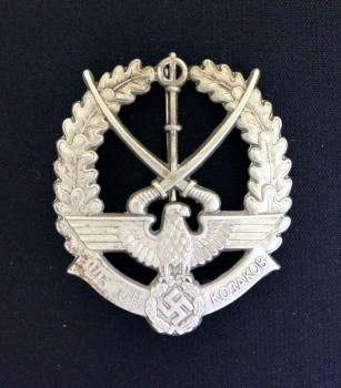 WWII German/Russian Young Cossacks Badge.