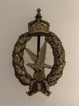 Imperial German Prussian WWI Air Gunners metal breast badge.HIGHEST QUALITY