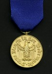 German Federal Republic  Armed Forces  12 year long service medal (1957 pattern).