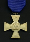 German Federal Republic  Armed Forces  25year long service cross (1957 pattern).