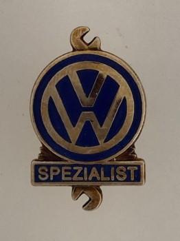 Volkswagen V.W. Spezialist Mechanics lapel badge..