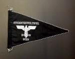 National Socialist Students Union vehicle pennant.