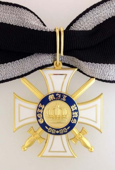 Prussian Order of the Crown  2nd Class with Swords.