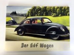 Third Reich period 1930s Volkswagen VW Beetle Sales Brochure