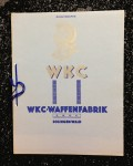 WW2 German/Germany WKC sword and dagger sales Catalogue 1938 Edition With pricelist