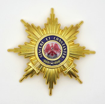 Imperial German Grand Cross Order of the Red Eagle with Swords Breast Star.