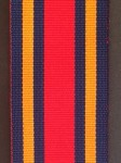 Medal Ribbon for British WW2 Burma Star. 32mm wide.
