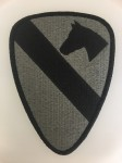 American US Army SUBDUED ACU ISSUE 1st Cavalry Division sleeve patch