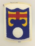 American U.S. Army 92nd Infantry Brigade sleeve patch